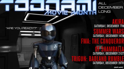 Toonami T Shirt Giveaway - toonami movie month wallpaper by jpreckless2444 on deviantart