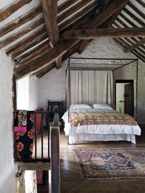idea da letto travi in legno in da letto ecco 20 esempi