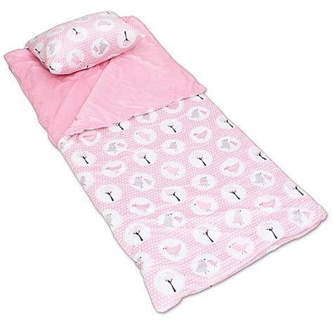 bed bath and beyond sleeping bags thro birds microplush sleeping bag in pink bed bath beyond