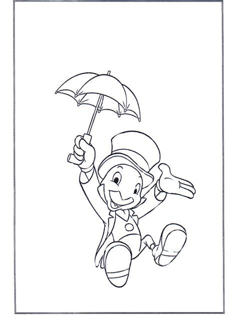 Jiminy Cricket Coloring Pages jiminy cricket disney