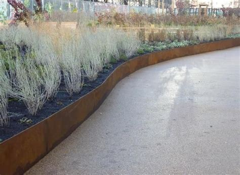 Planter Edging by 17 Best Images About Corten Steel Planter Details On