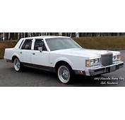 Sterling 1987 Lincoln Town Car We Built A Special Set Of 50 Spoke