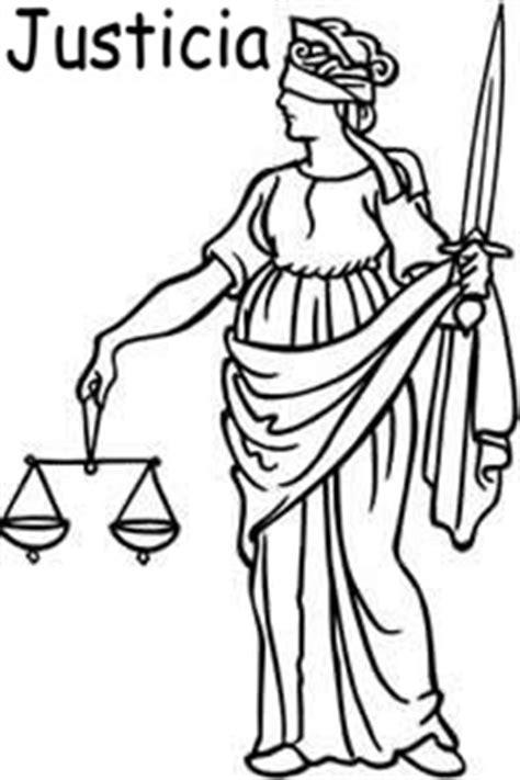 imagenes del valor justicia para colorear justicia dibujos para colorear