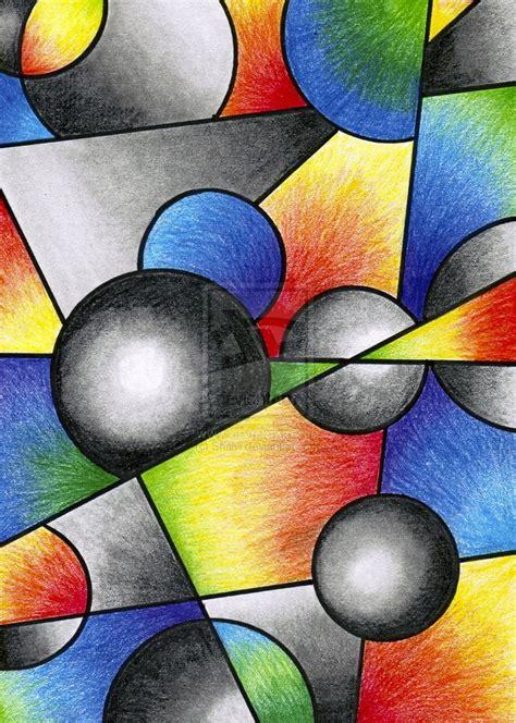 abstract art basic art basic cubism by shalvi on