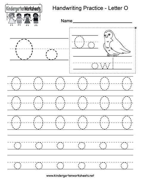 worksheet alphabet o index of images worksheets handwriting practice