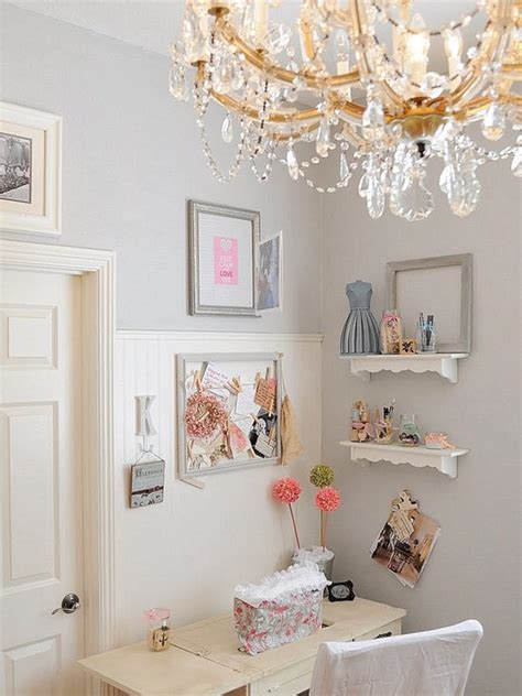 shabby chic home office emerald interiors