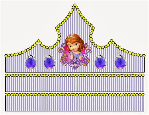 princess sofia free printable crown or tiara is it for