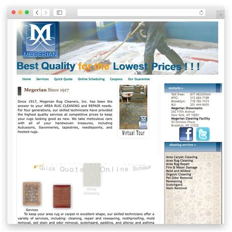 megerian rug cleaners сайты под ключ страница 4 187 портфолио perfecto web