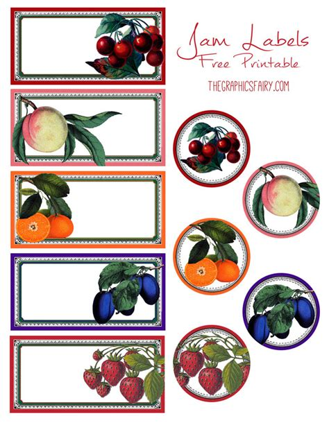 jelly jar label template free printable jam labels graphics free printable