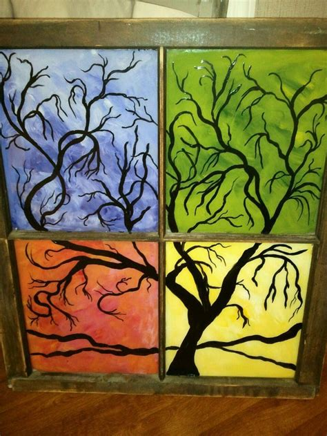 glass acrylic painting 17 best images about painted stained glass on pinterest