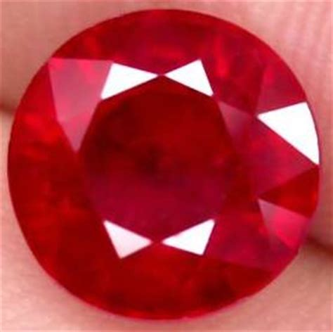 6 6 Ct Ruby Mirah Delima Memo batu permata ruby batu permata