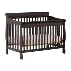 Black 4 In 1 Convertible Crib Stork Craft Modena 4 In 1 Fixed Side Convertible Crib In Black 387534