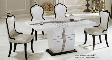 2015 Popular Cheap Best Quality 1 4 Glass Dining Table In Best Quality Dining Room Furniture