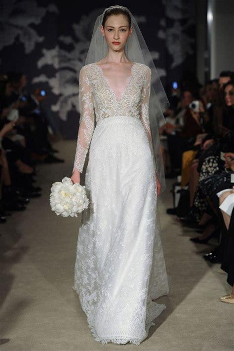 carolina herrera wedding dresses carolina herrera spring 2015 wedding dresses weddingbells