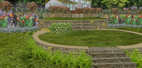 Jardins En Terrasse by Cr 233 Ation De Jardin En Paliers Ou Restanques Jardin En