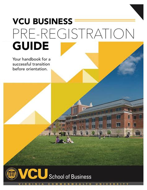 Vcu Mba Courses vcu school of business winter 2016 2017 transfer student