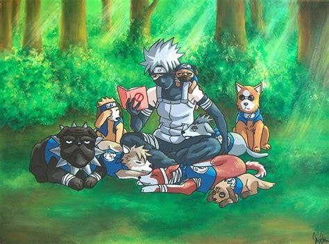 kakashi ninja dog commission  erithel  deviantart