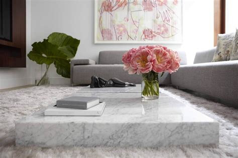 marble living room tables marble coffee table design style ideas and tips sefa stone