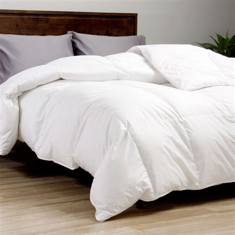 european comforter european legacy 370 thread count baffle box white down