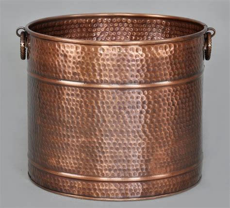 Copper Planters by Copper Planters Hammered