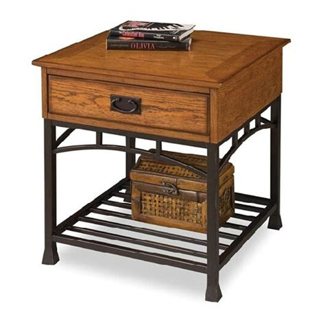 wrought iron bedside table country pastoral retro style wrought iron bedside