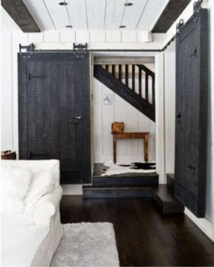 barn door inside house interior barn doors