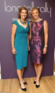 Katherine grainger and anna watkins say they have worn more dresses in