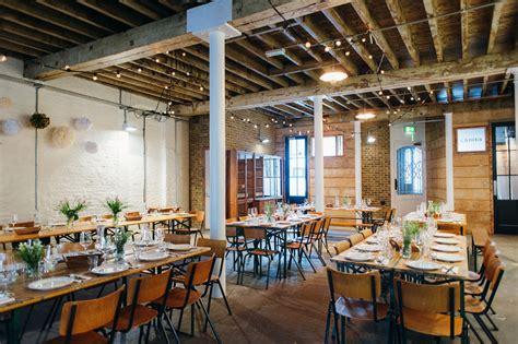 wedding locations east brixton warehouse wedding 183 rock n roll