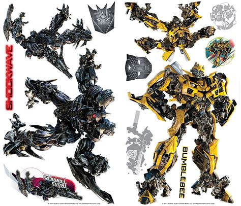 transformers wall stickers transformers wall decals fallen 27 decals wall stickers