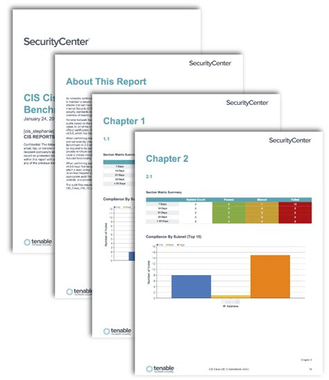 Cis Report Template Cis Cisco Benchmark Reports Sc Report Template Tenable