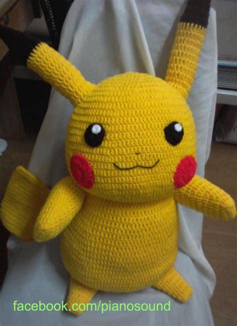 amigurumi pikachu pattern craftsy