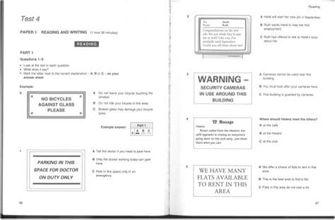 test pet inglese cambridge pet 2 preliminary test