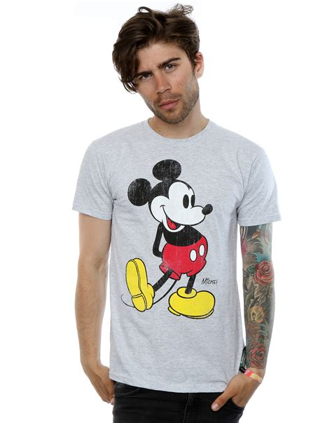 Mickey Mouse Shirt disney s mickey mouse classic kick t shirt ebay