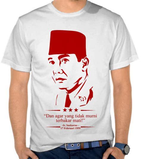 Kaos Siluet 14 jual kaos ir soekarno 1959 indonesia satubaju