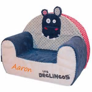 fauteuil club enfant personnalis 233 hippipos
