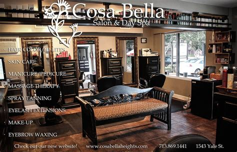 haircuts heights houston cosa bella salon day spa hair salons the heights