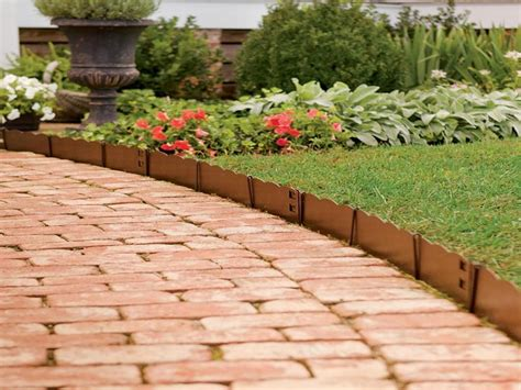 Garden Edges Ideas Decor Cheap Landscape Border Landscape Edging Ideas Driveway Edging
