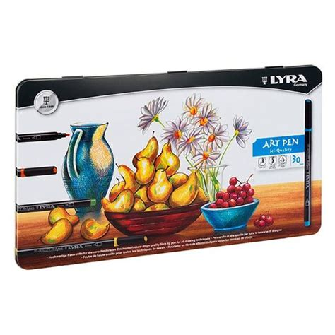 Lyra Sketch Book A4 Isi 30 Hi Store lyra hi quality pen set 30 the deckle edge