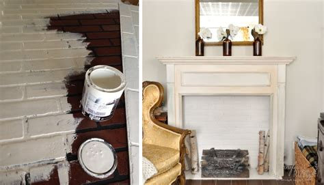 faux painting fireplace brick simple ways to recreate the look of real exposed brick walls