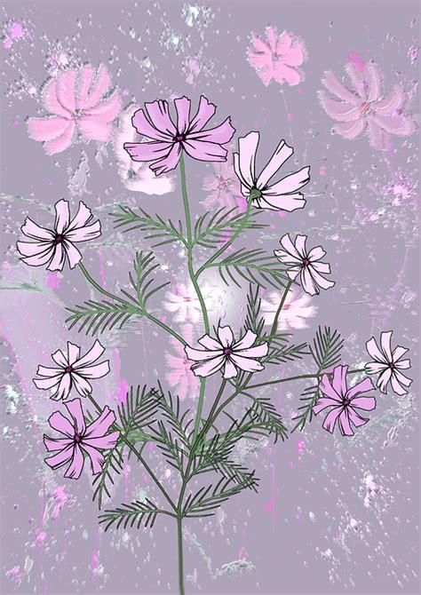 Sale Wallpaper Dinding Motif Flowers Ungu Keren gambar wallpaper bunga pink impremedia net