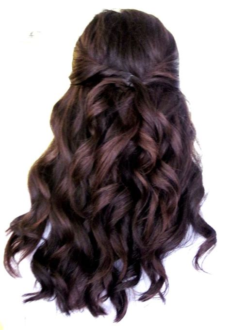 Pinned Back Hairstyles For Hair by Curls A Few Pinned Back One Of My Favorite Hair