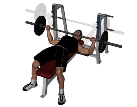 wide arm bench press barbell bench press