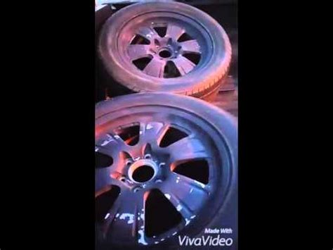 spray painting wheels how to paint alloy wheels with spray cans color shift doovi