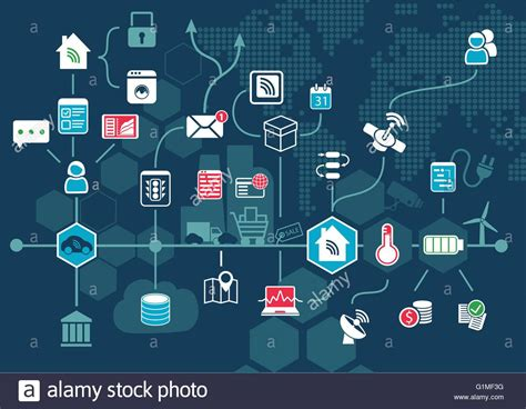 smart home automation technology infographics stock vector vector infographic of smart home automation workflow stock