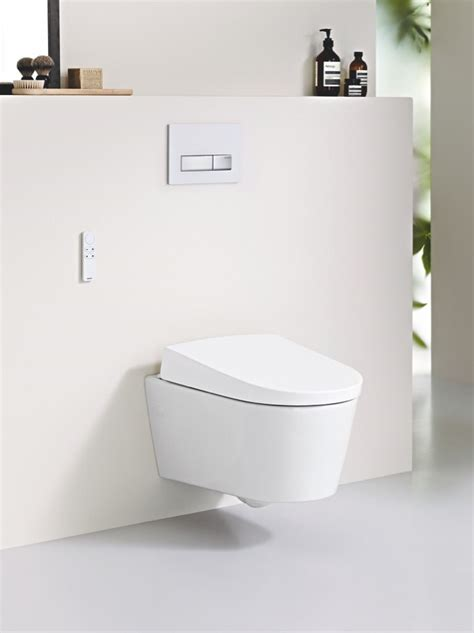 geberit bidet wc wall hung toilet with bidet aquaclean sela by geberit