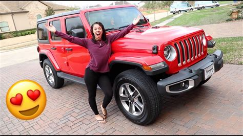 ace family jeep car tour of my 2018 jeep wrangler the prince family