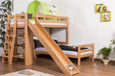 Bunk Bed With Slides Great And Cool Bunk Beds With Slide For Atzine