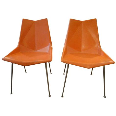 Paul Mccobb Origami Chair - 1950s paul mccobb fiberglass origami chairs for sale at