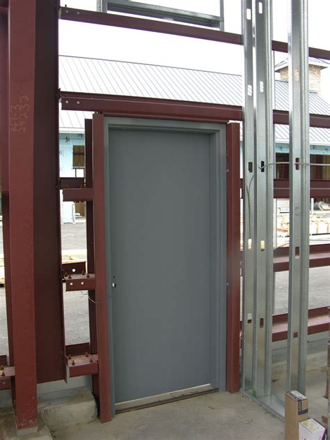 Painting Exterior Metal Door Steel Doors Exterior Marceladick