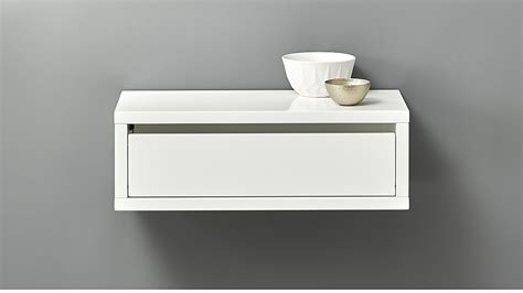 Wall Mounted Nightstand With Drawer by Slice White Wall Mounted Storage Shelf In 2019 Entry